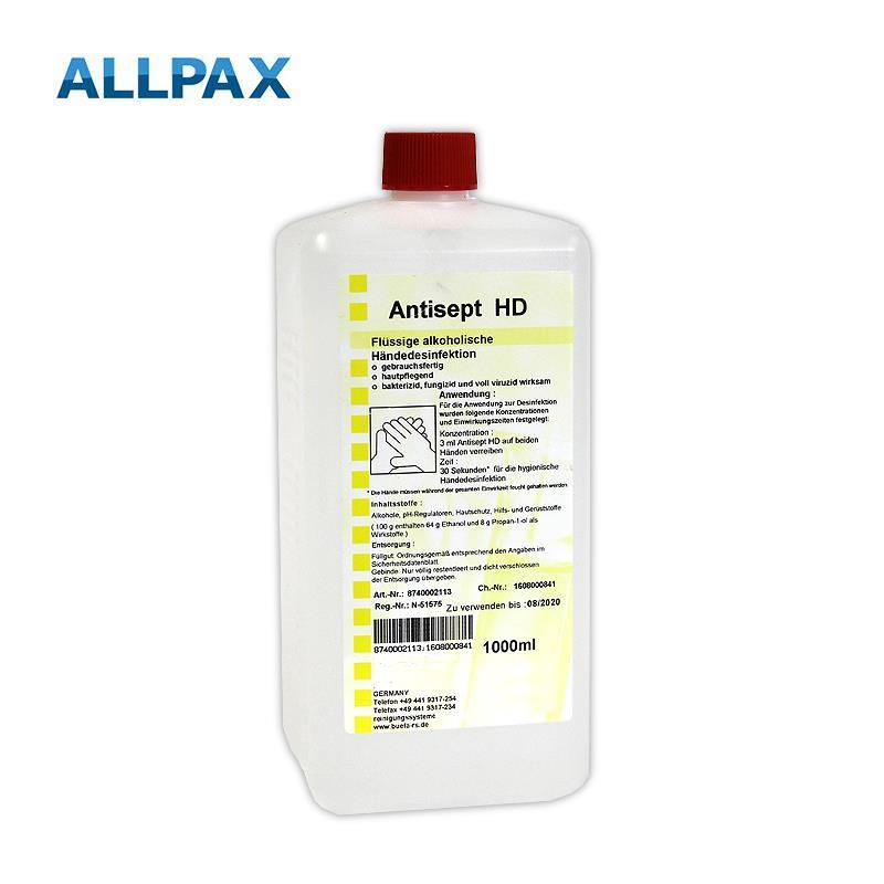 Händedesinfektionsmittel Antisept HD 1 Liter