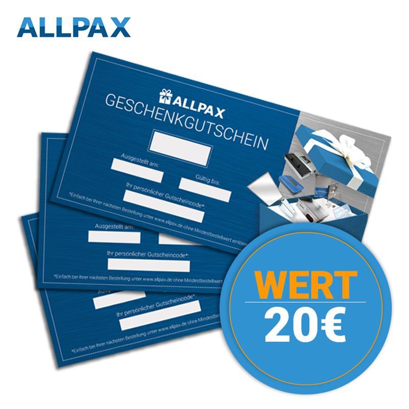 20,- Euro Brutto Geschenkgutschein