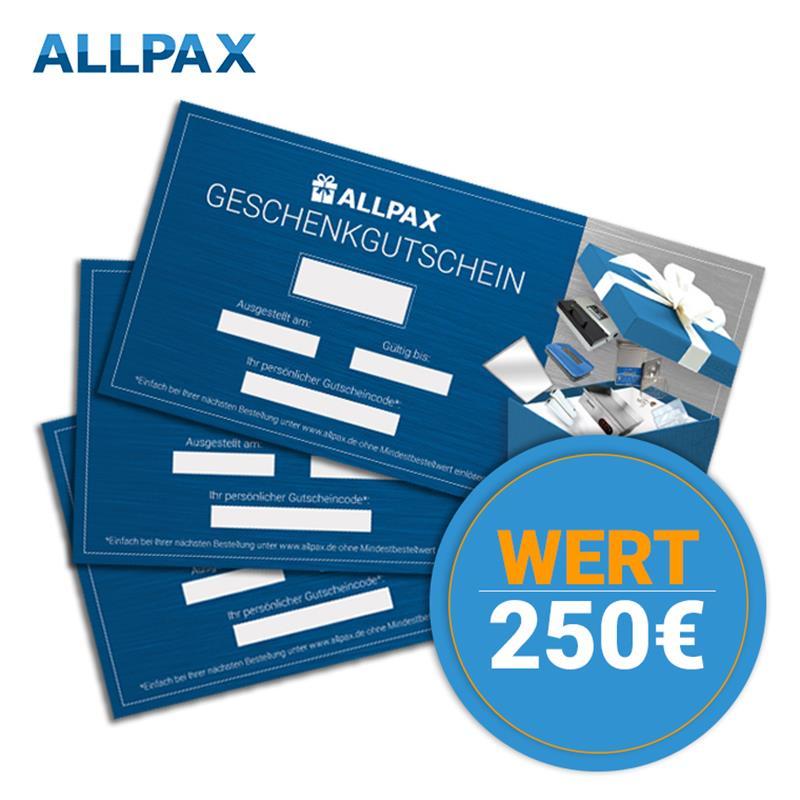250,- Euro Brutto Geschenkgutschein