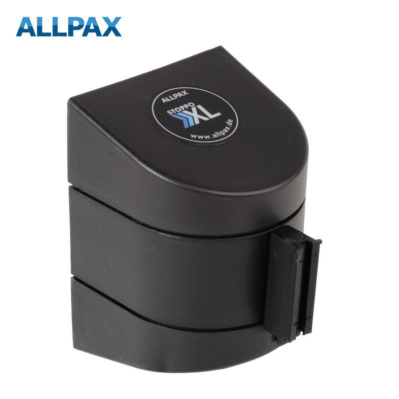 Stoppo XL Abgrenzungsband zur Wandmontage 9,1m -  schwarz