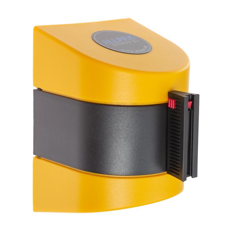 Stoppo XL Abgrenzungsband zur Wandmontage 9,1m - gelb-schwarz gestreift