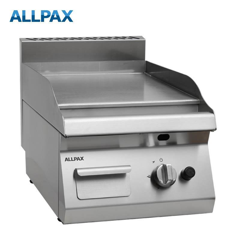 Gas Grillplatte ALLPAX 604-G, glatt