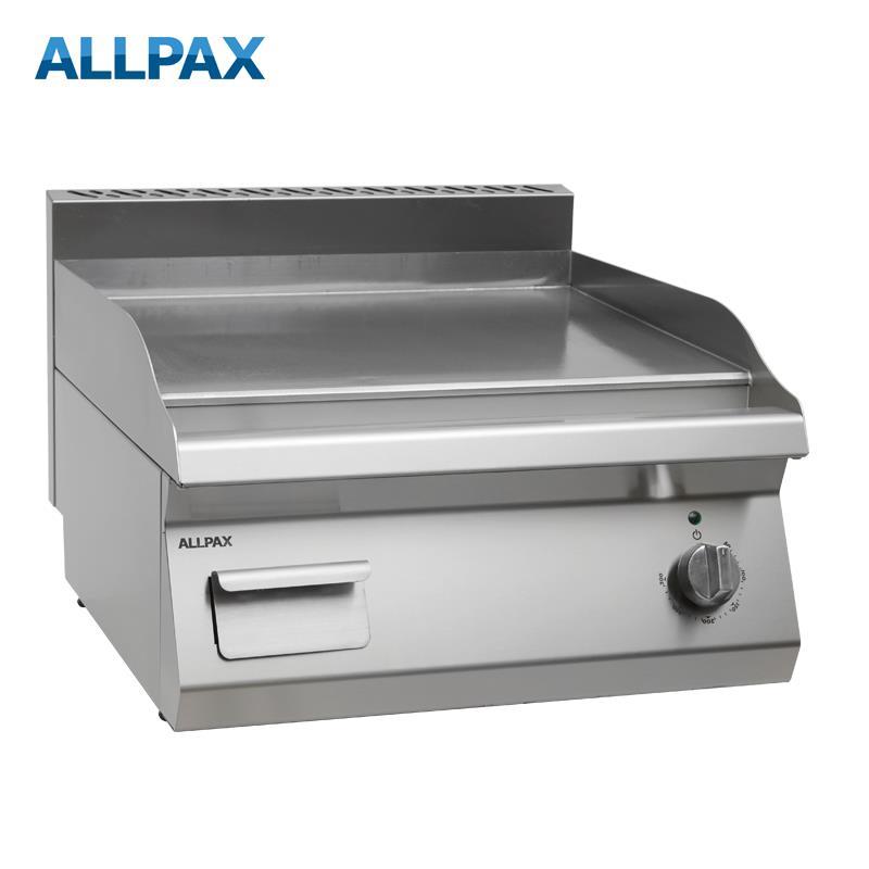 Elektro Grillplatte ALLPAX 606-E, glatt