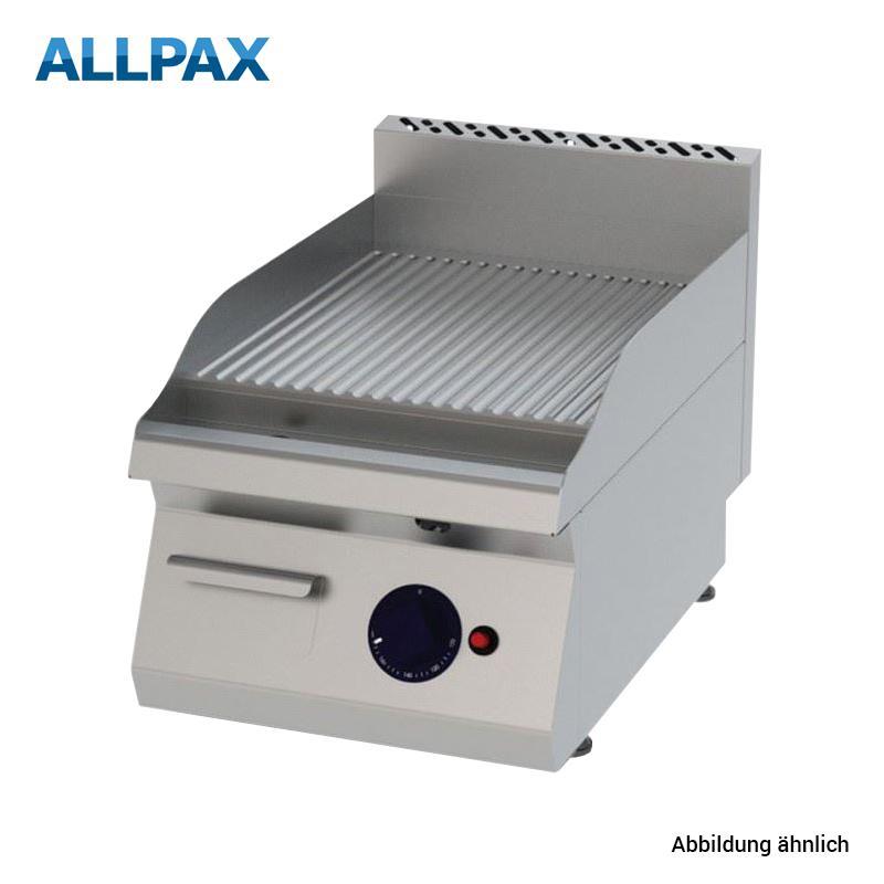Elektro Grillplatte ALLPAX 604-E, gerillt