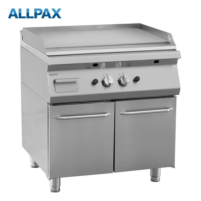 Gas Grillplatte ALLPAX 708-G, glatt