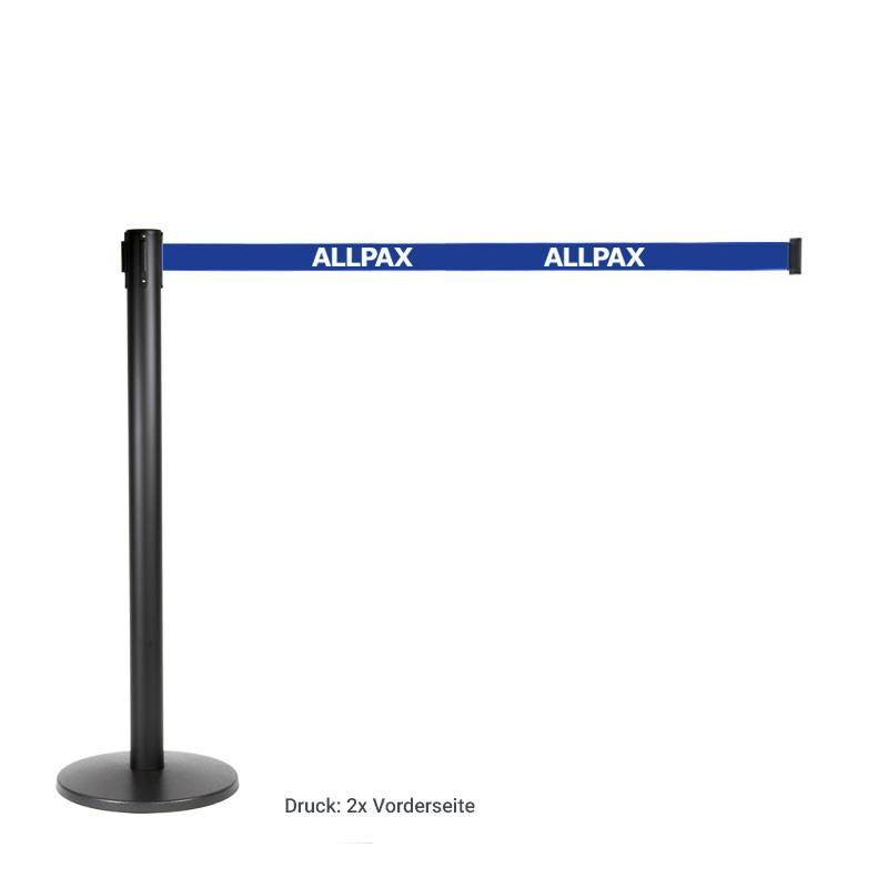 Aufdruck für Zugband: Logo, 40 cm, 1-farbig