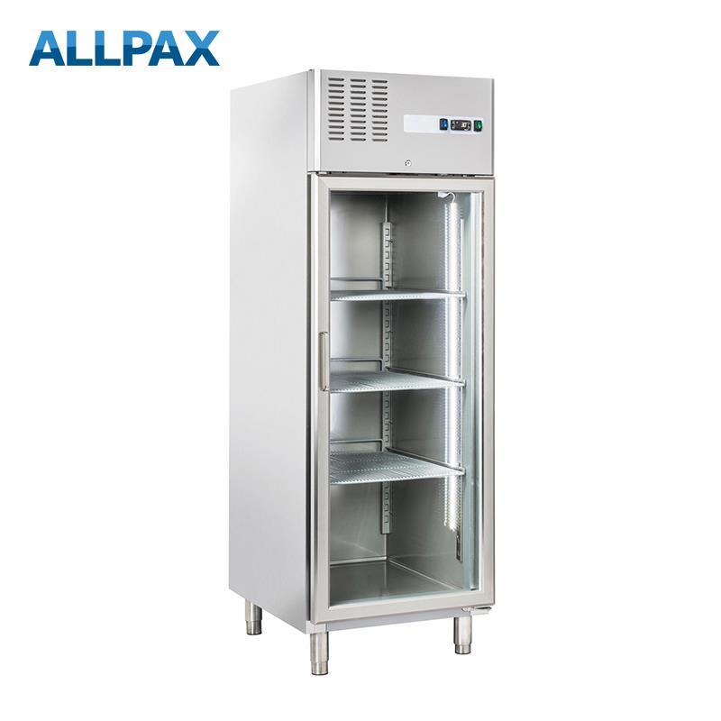Umluftkühlschrank 640 Liter mit Glastür