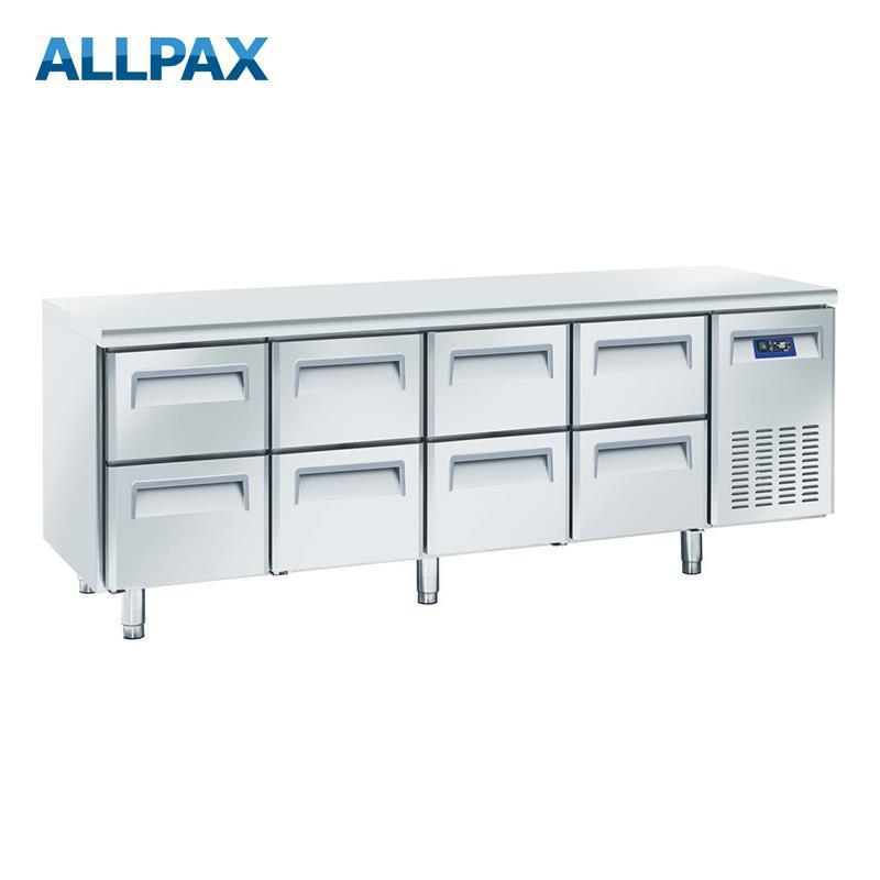Edelstahl Kühltisch