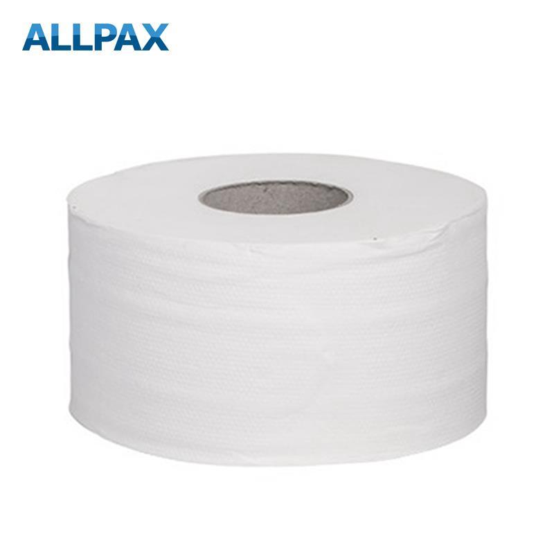 Toilettenpapier Haushaltsrolle 2-lagig, weiß