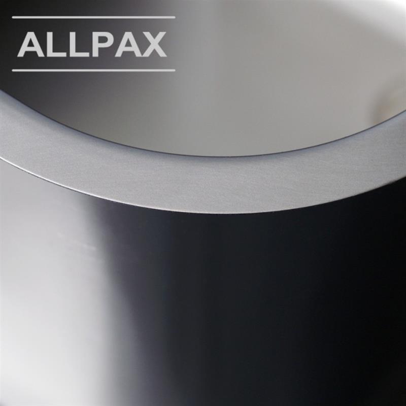 XL Edelstahl Spülbecken 400×400, 48 Liter ~ Spülbecken Liter