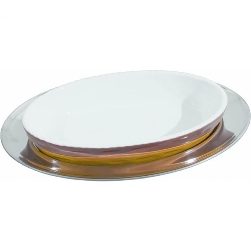 Backform oval, braun - 10 Größen