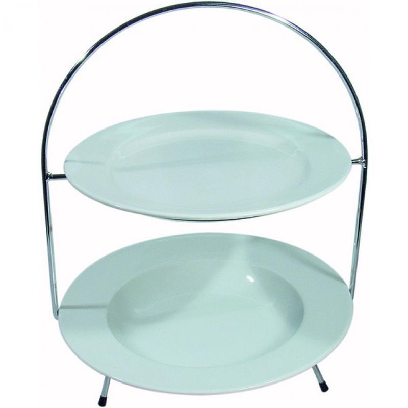 Teller-Etagere, 2-fach, für Teller 27 & 30 cm