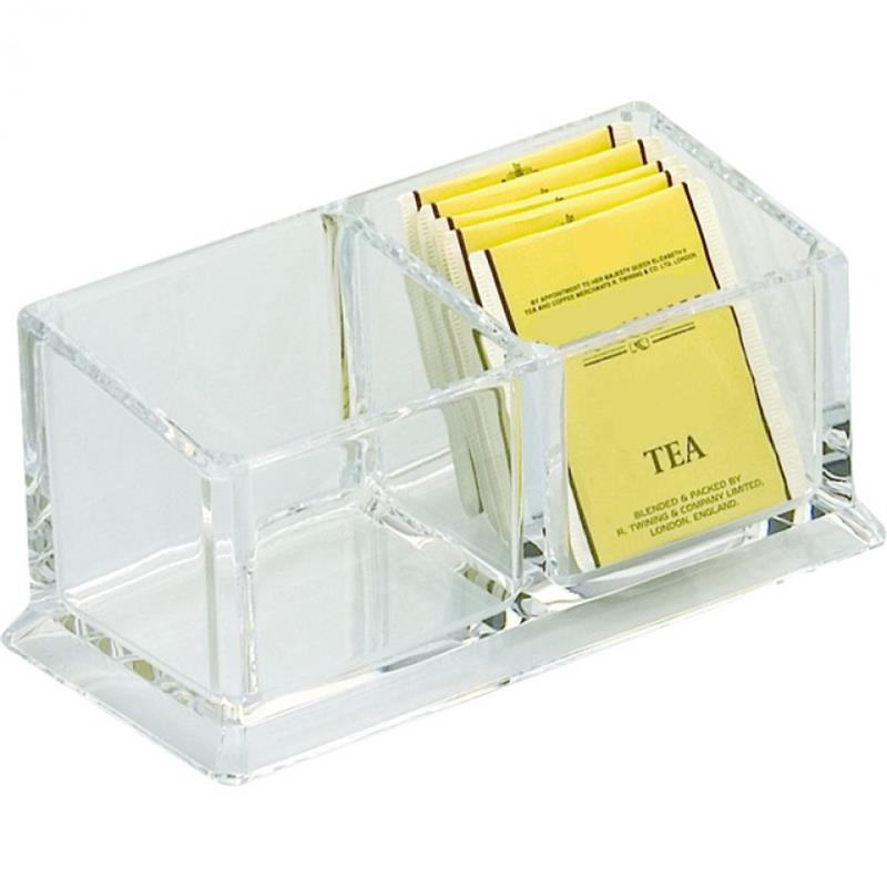 Acryl-Halter für Teebeutel & Zuckertüten, 3 Ausführungen