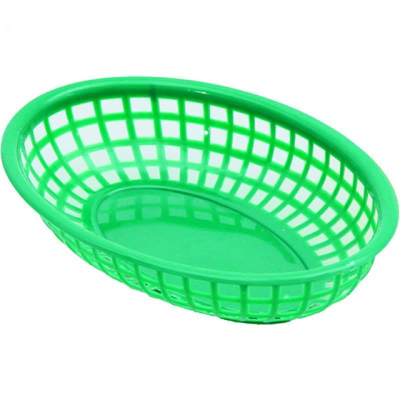 PE-Brotkorb, 23x15 cm, grün