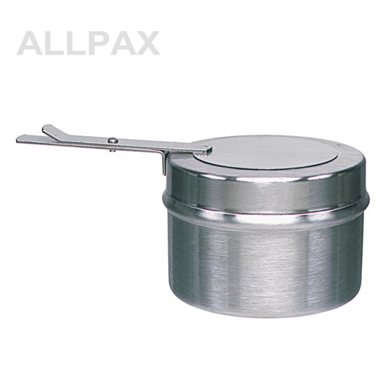 Brennpastenbehälter für Dosen a. 225 Gramm, Edelstahl