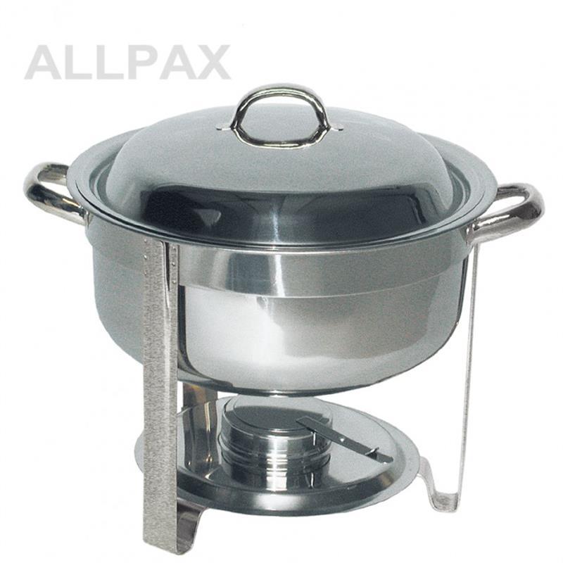 Suppen Chafing Dish, rund, komplett, 7,5 ltr.