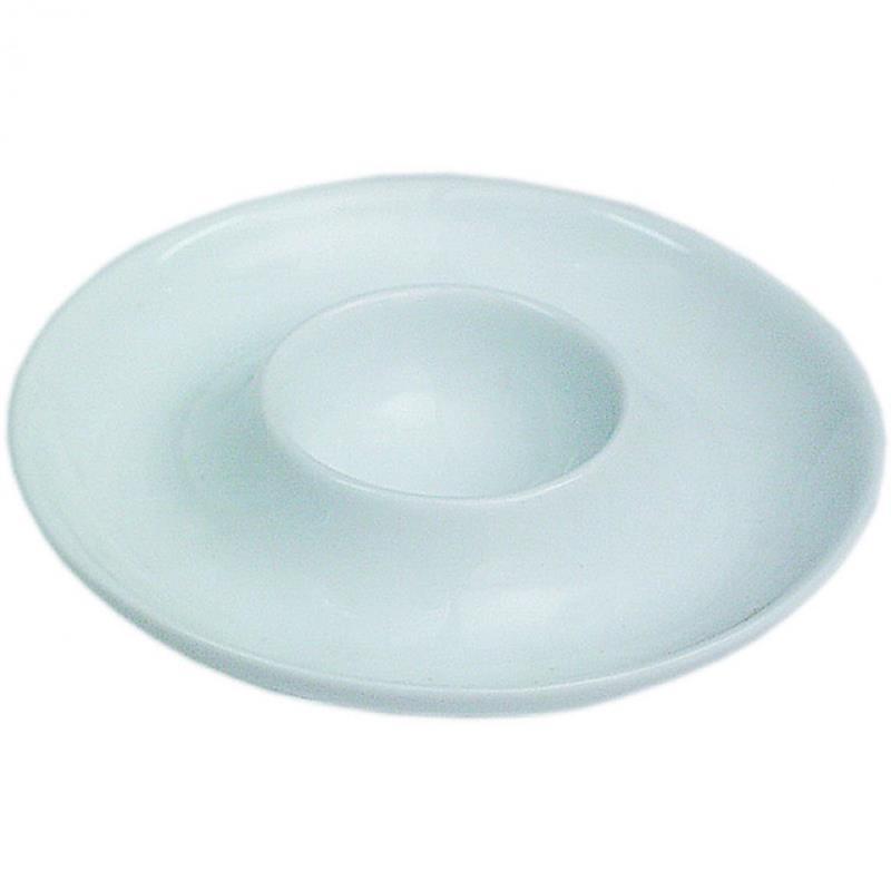 Porzellan-Eierbecher, rund - 10,5 cm