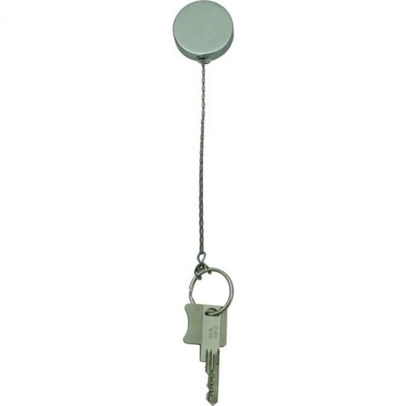 Schlüsselkette aus Edelstahl, 50 cm
