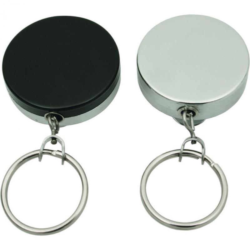 Schlüsselkette, Oberteil schwarz lackiert