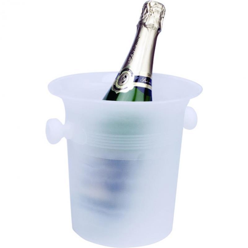 Flaschenkühler, eisfarben - PP