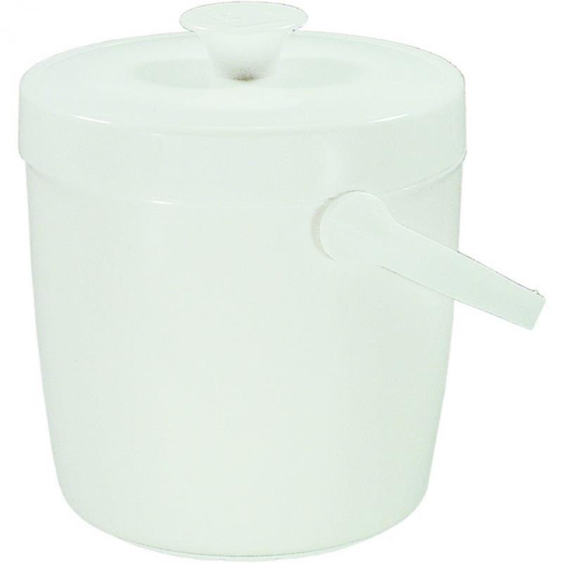Eiseimer, Kunststoff weiß, drei Größen