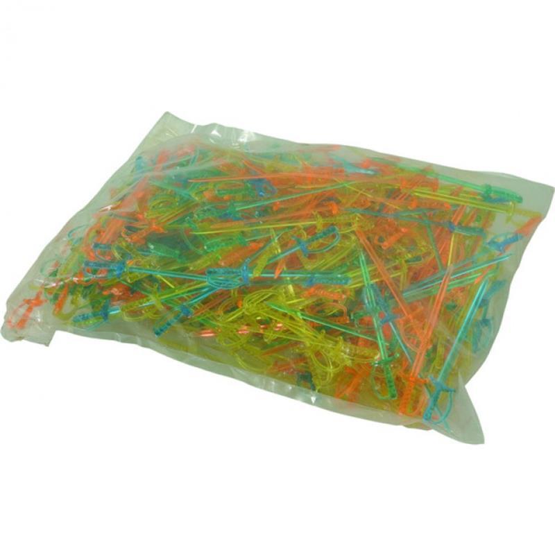 Beutel á 500 Stück - Degenpicker - Neonfarben