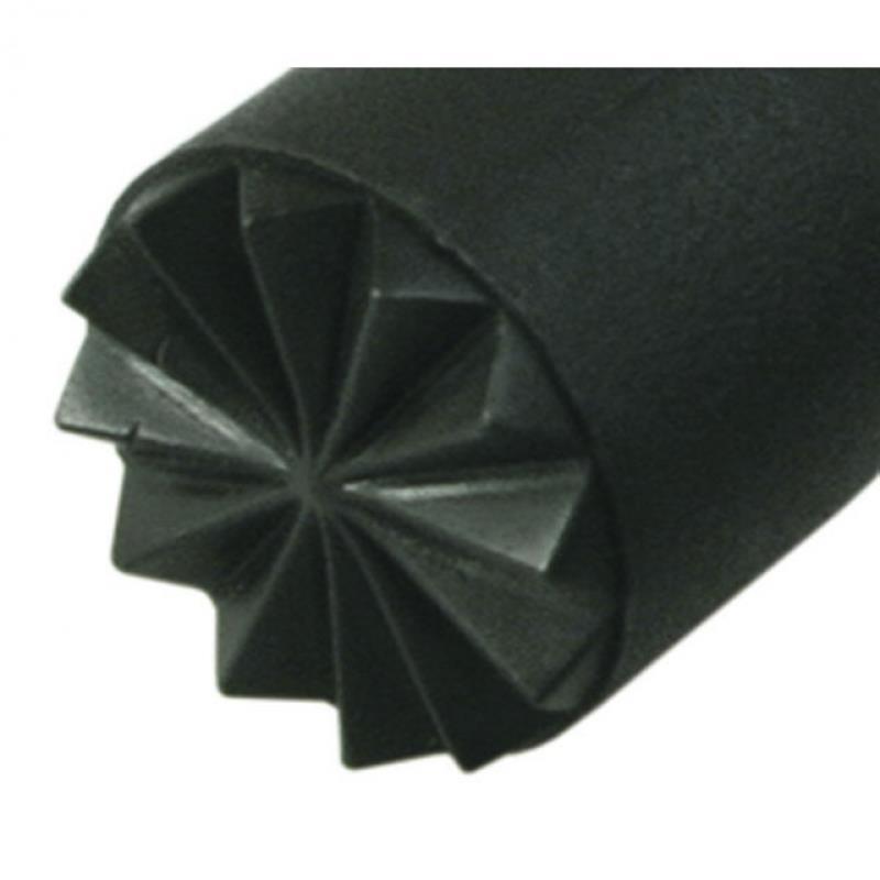 PP-Muddler 22 cm, schwarz, Kopf Ausf.: 2