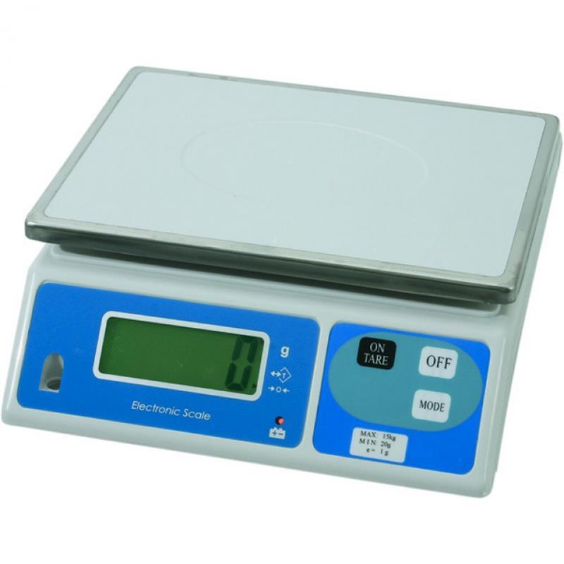 Elektronik - Digital Waage - bis max. 15 kg