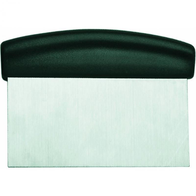 Teigschaber mit ABS Griff, 15x7 cm