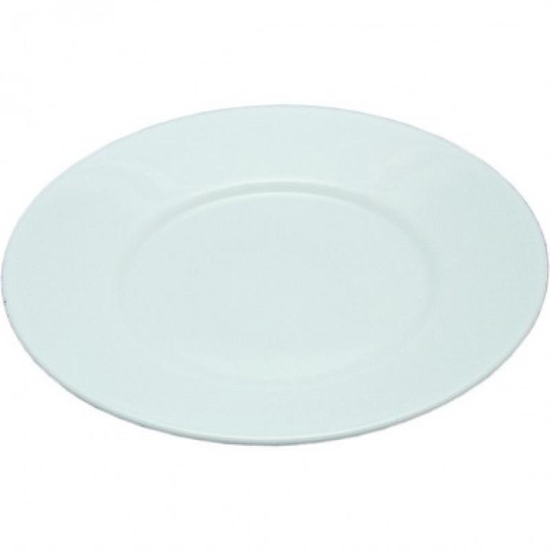 Opalglas - Teller, flach - 22,5 und 25 cm