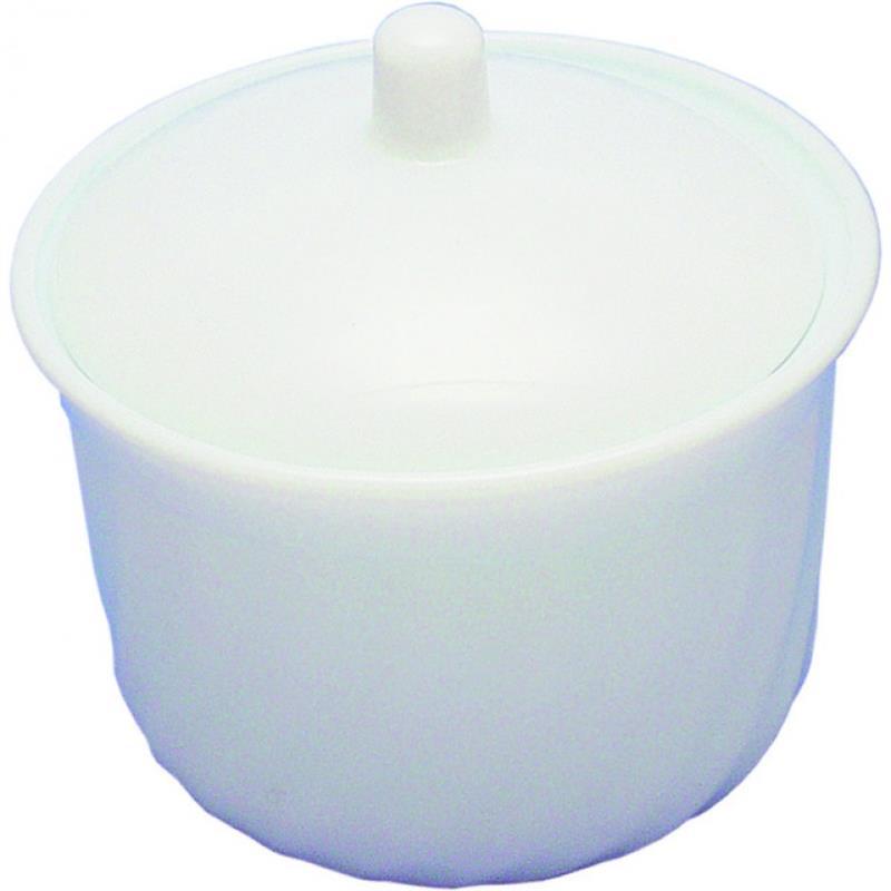 Opalglas - Zuckerdose mit Deckel, Wave, 0,25 ltr.