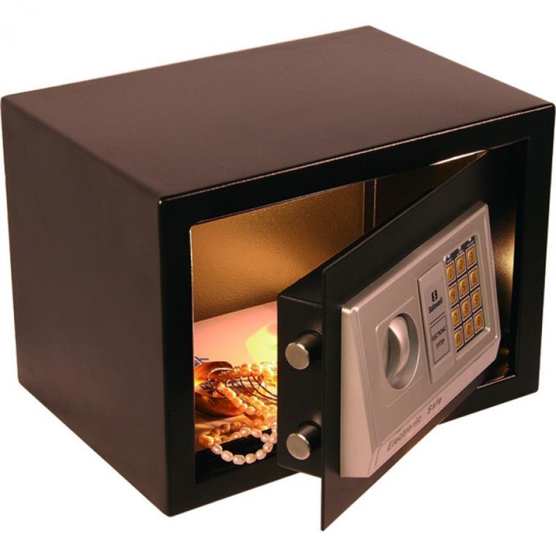 Elektronik Safe, 3-8 stelliger Pincode, leichte Ausführung