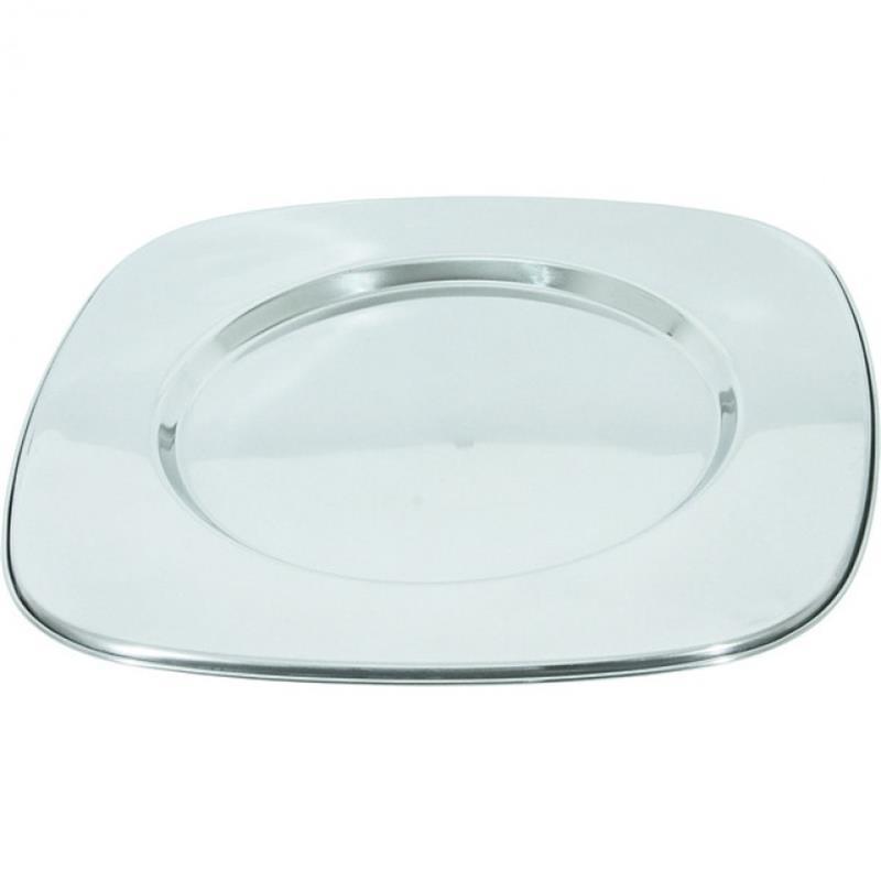 Platzteller, 33x33 cm, Spiegel rund