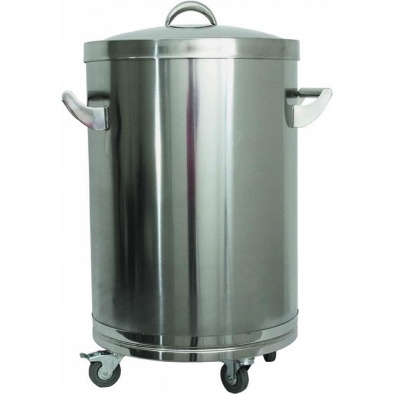 Abfall-Behälter, fahrbar, 130 Liter