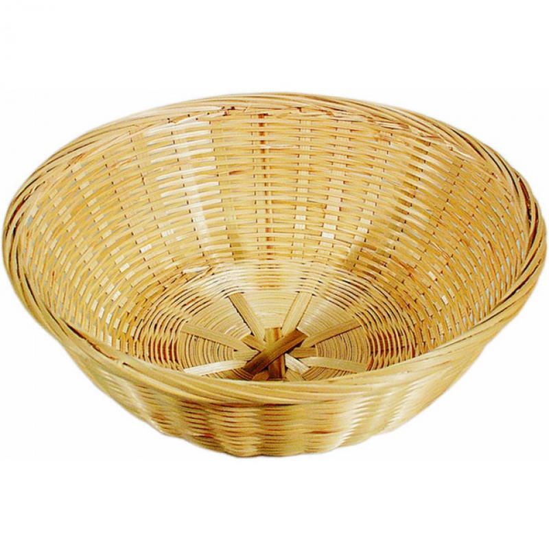 Bambus-Brotkorb, rund - 3 Größen