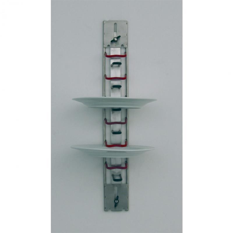 Tellerhalter für Wandmontage - 6 Teller