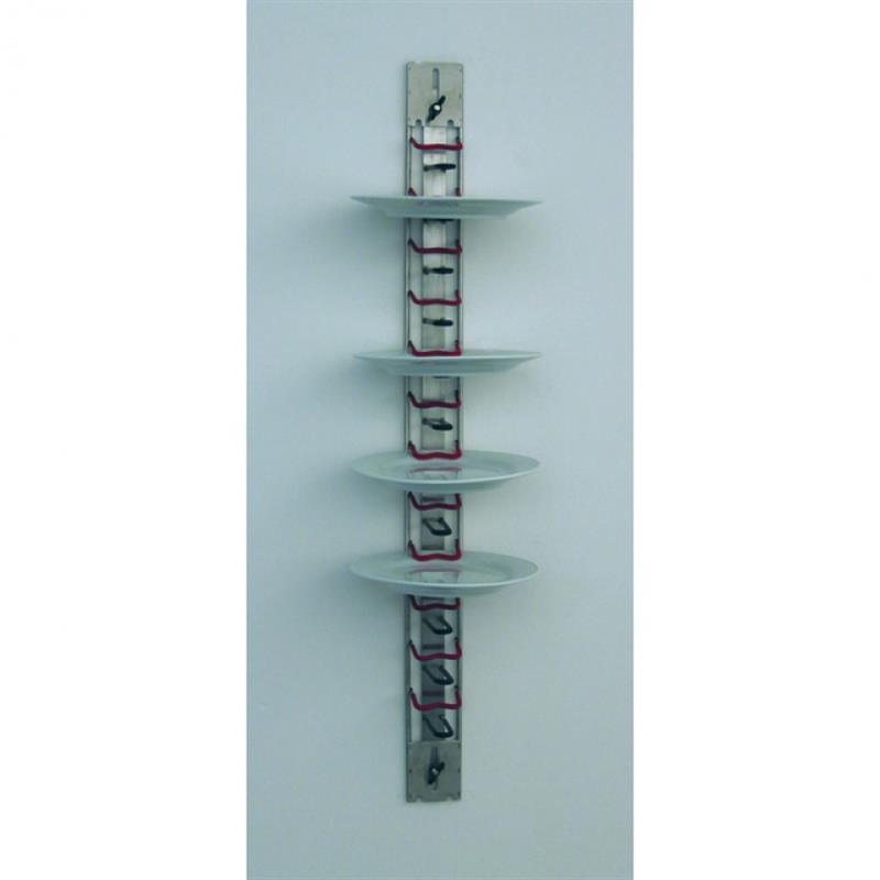 Tellerhalter für Wandmontage - 12 Teller