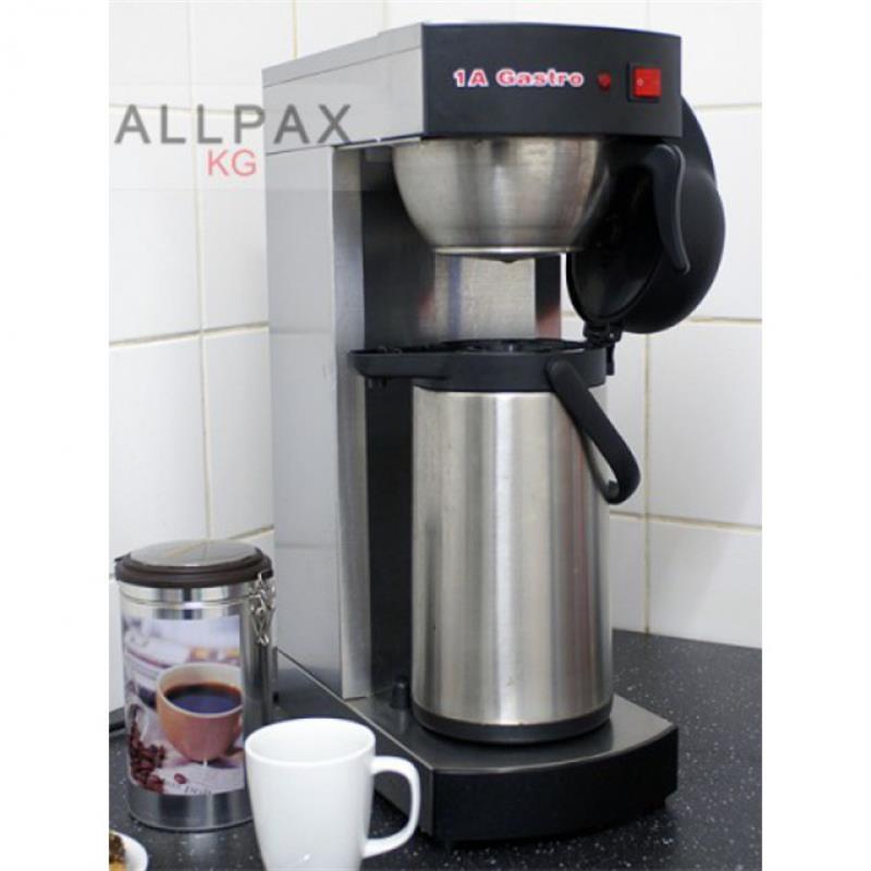 allpax filter kaffeemaschine 2 2 li pumpkanne edelstahl. Black Bedroom Furniture Sets. Home Design Ideas