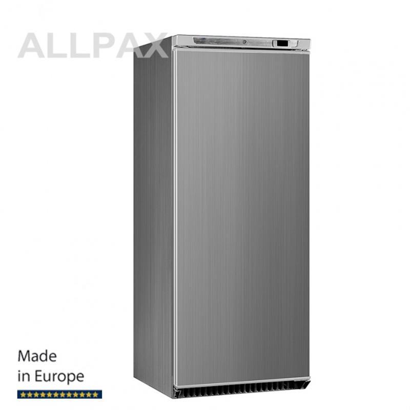 Umluft-Gewerbekühlschrank, INOX