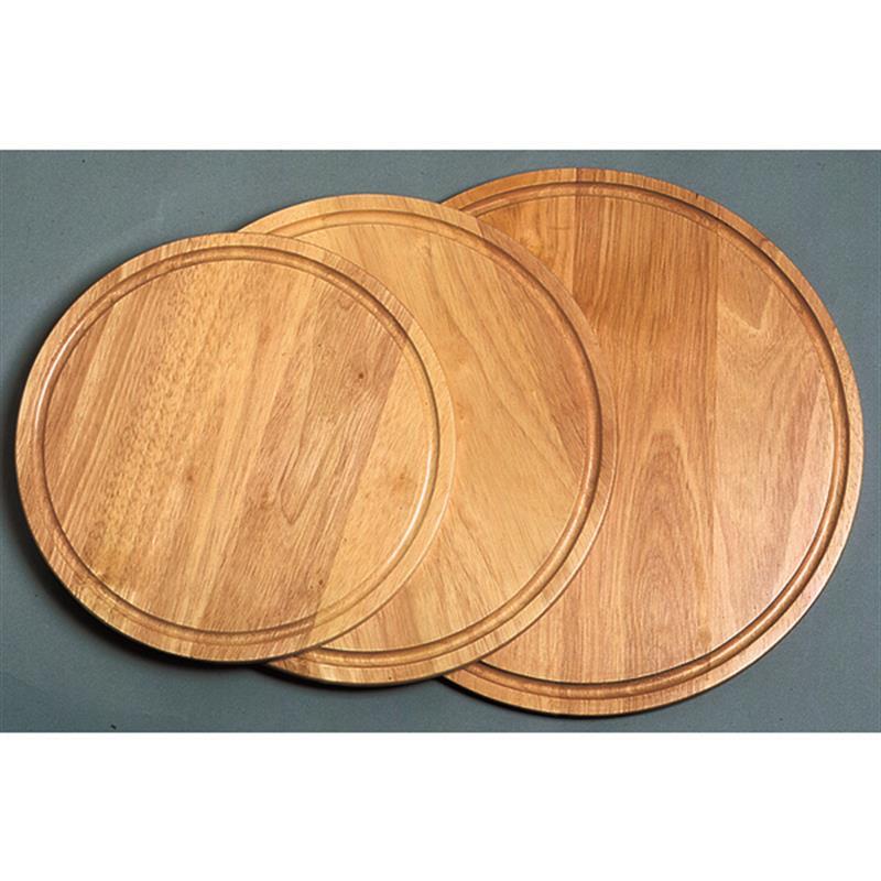 Holz-/Pizzateller, Servierbrett