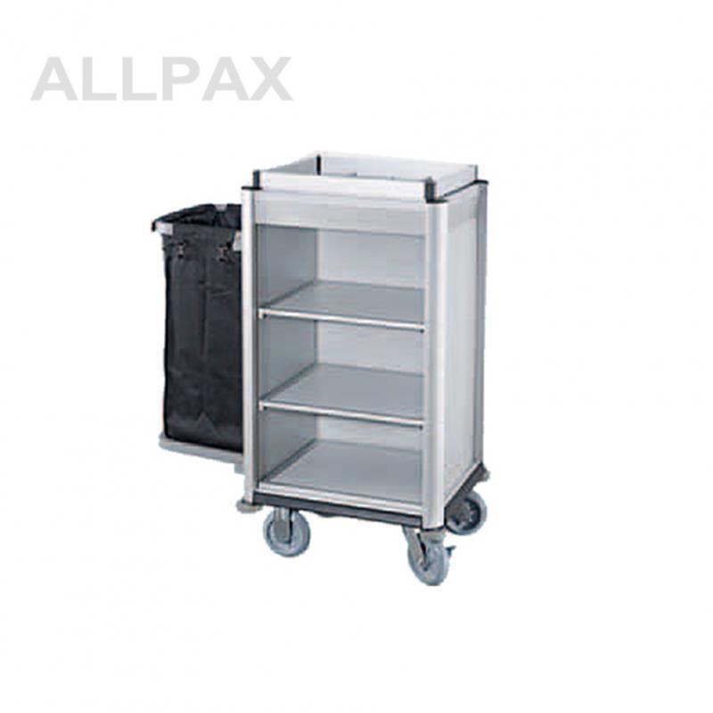 Wäschesammelwagen mit 1 Wäschesack