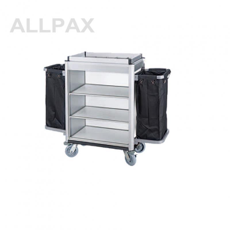 Wäschesammelwagen mit 2 Wäschesäcken