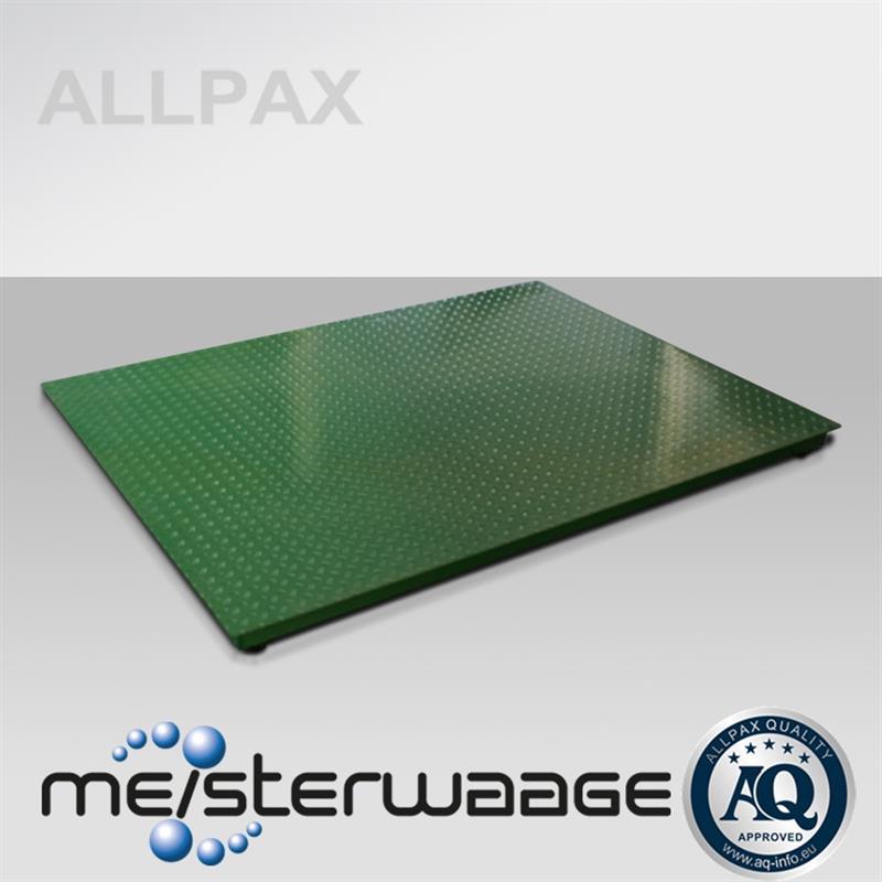 ALLPAX Bodenwaage 1,2 x 1,5 m