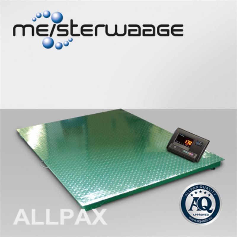 ALLPAX Bodenwaage 1,5 x 1,5 m