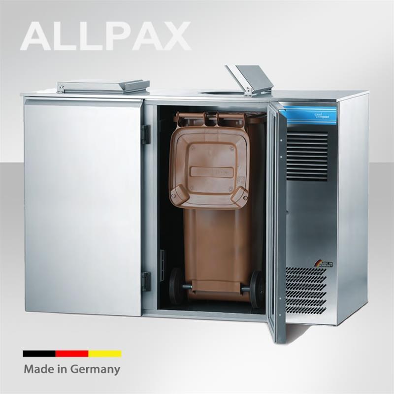 CoolCompact Abfallkühler für 240 l - 3 Ausführungen