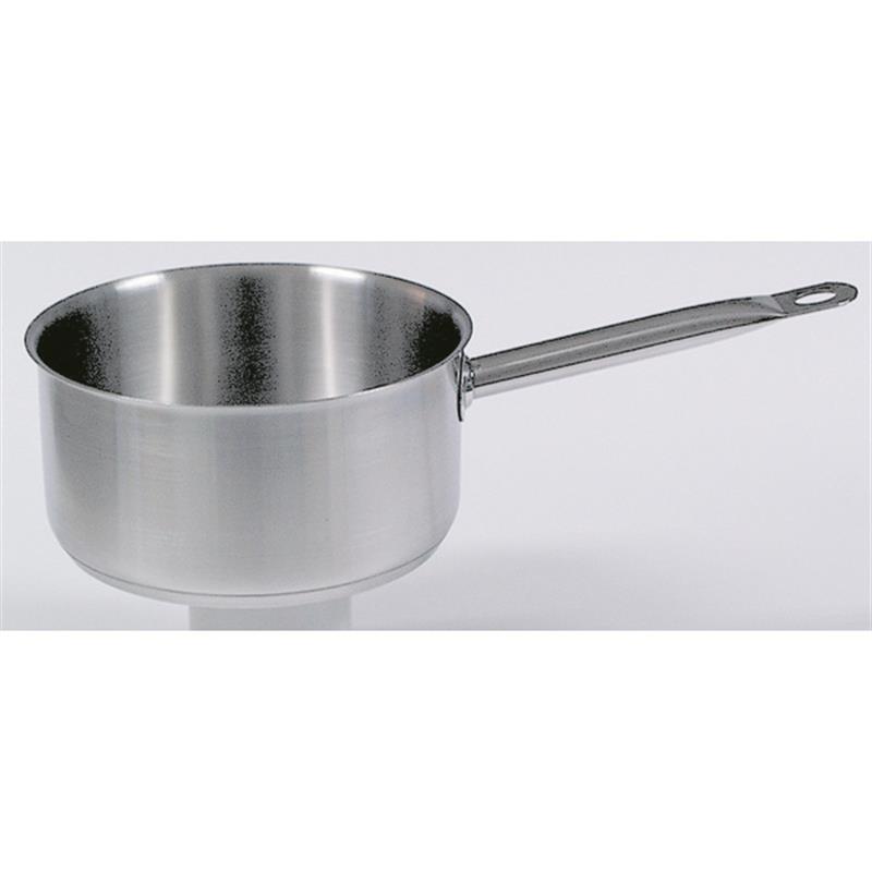 Flache Stielkasserolle mit Schüttrand