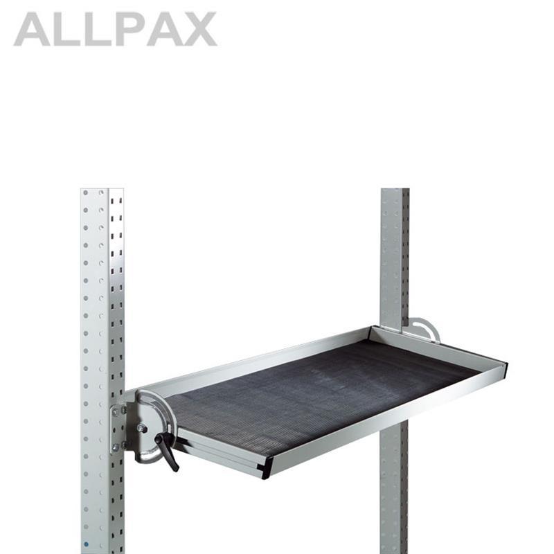 Riffelgummieinlage 345 mm für neigbare Ablagekonsole