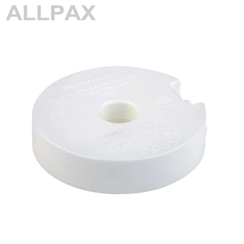 Kühlelement / Kühlakku rund, ca. Ø 10,5 cm, Höhe 2,5