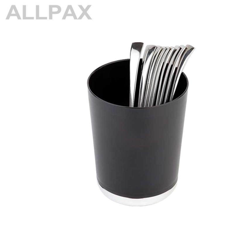 Tischreste-/Besteckbehälter - BASE CHROM -