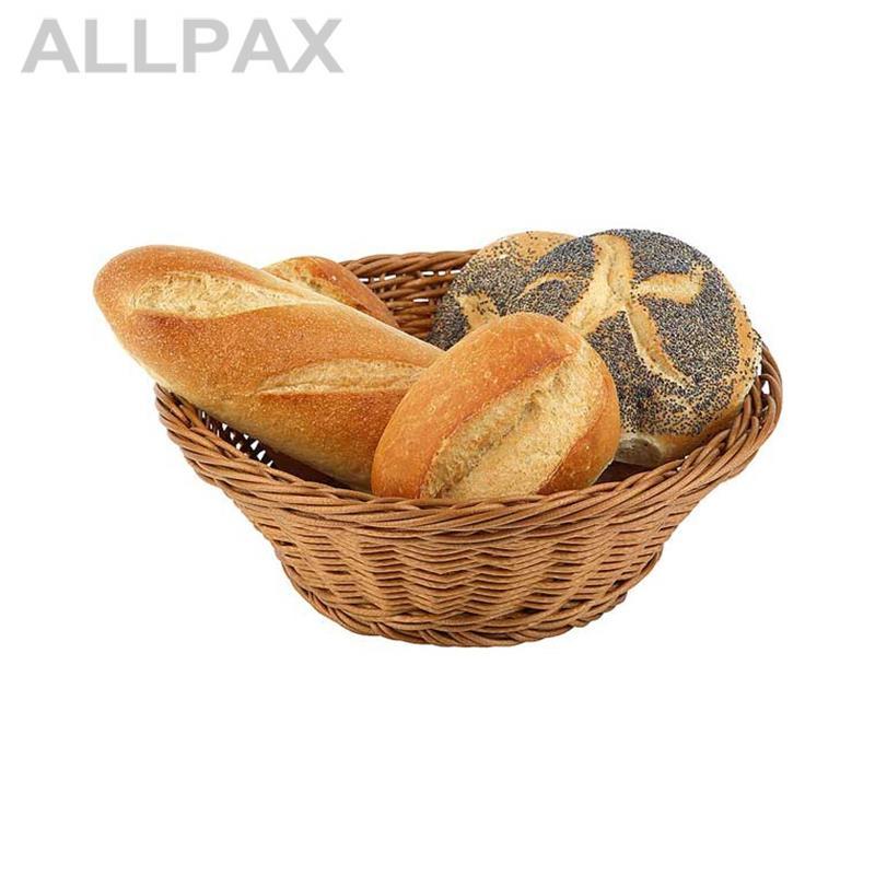 Brot- und Obstkorb